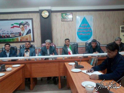 دوره آموزشی مدیریت سیلاب در شهرستان ترکمن برگزار شد