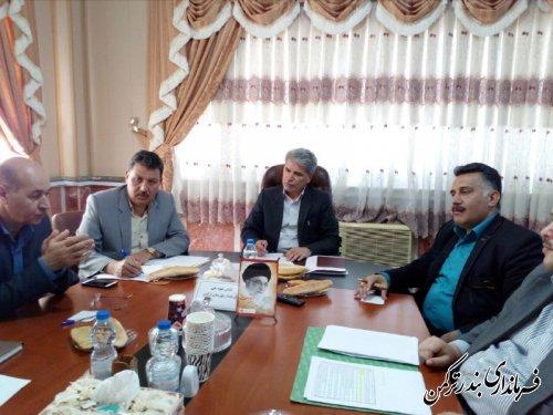 جلسه کارگروه ساماندهی امور آرد و نان شهرستان ترکمن برگزار شد