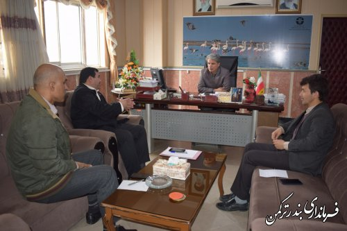 جلسه هماهنگی ستاد اسکان سیل زدگان شهرستان های همجوار در شهرستان ترکمن برگزار شد