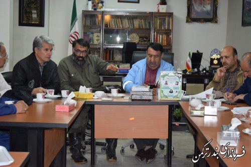جلسه ستاد مدیریت بحران شهرستان های ترکمن و کردکوی برگزار شد