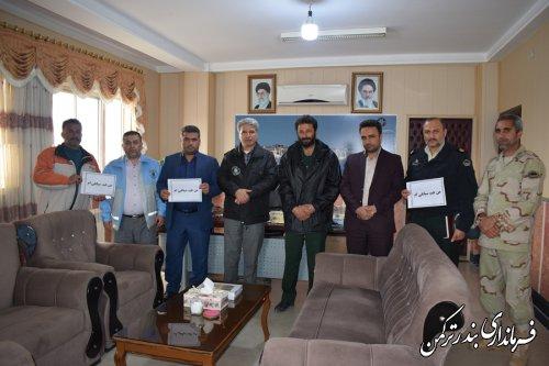 تشکیل کمپین حمایت از سپاه پاسداران اسلامی توسط اعضای شورای تامین شهرستان ترکمن