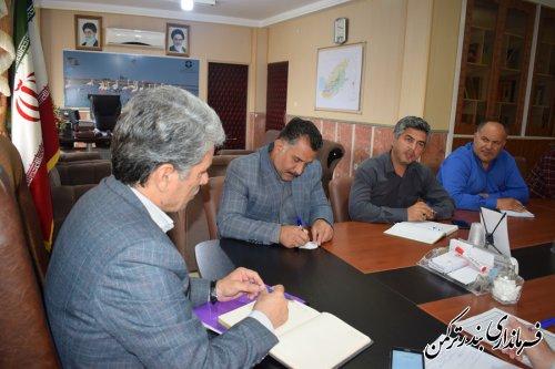 شانزدهمین جلسه شورای هماهنگی مدیریت بحران شهرستان ترکمن برگزار شد