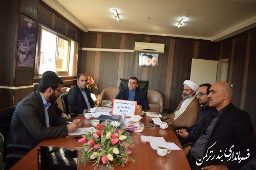 جلسه هماهنگی سمن های شهرستان ترکمن برگزار شد