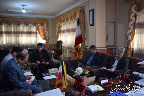 جلسه هیئت تطبیق شهرستان ترکمن برگزار شد