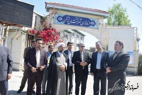 توزیع هدایای ستاد اجرایی فرمان حضرت امام (ره) به مددجویان سیل زده شهرستان ترکمن