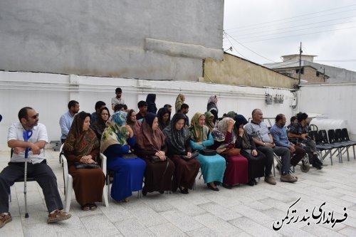 اهداء 23 دستگاه جوجه کشی به مددجویان بهزیستی شهرستان ترکمن