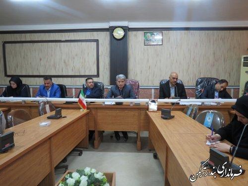 جلسه کارگروه تخصصی امور بانوان و خانواده شهرستان ترکمن برگزار شد