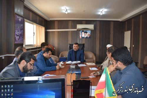 جلسه هماهنگی و برنامه ریزی راهپیمایی روز جهانی قدس شهرستان ترکمن برگزار شد