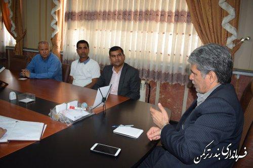 جلسه انجمن خیرین اجتماعی شهرستان ترکمن برگزار شد