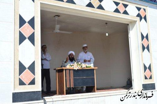 نماز باشکوه عید سعید فطر در شهرستان ترکمن برگزار شد