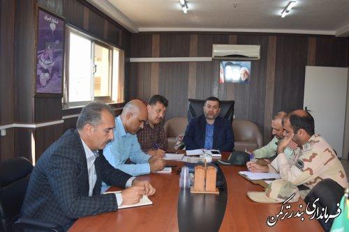 کمیسیون امنیت ورزشی شهرستان ترکمن برگزار شد