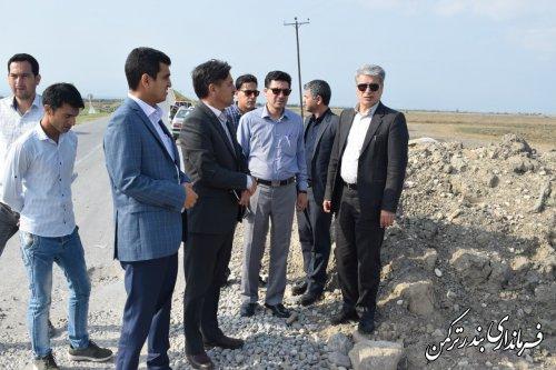 پیگیری رفع خسارت های سیل زدگان شهرستان ترکمن توسط فرماندار