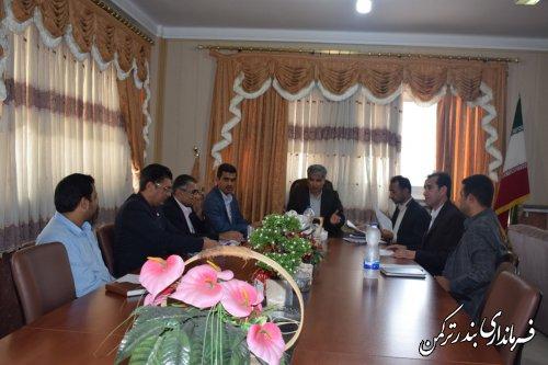 جلسه هماهنگی تسریع روند پرداخت تسهیلات به خسارت دیدگان سیل در شهرستان ترکمن برگزار شد