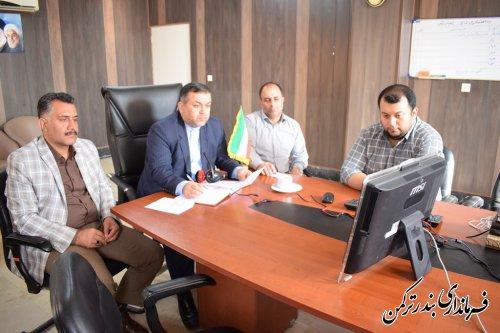 ششمین نشست انتخاباتی استان از طریق ویدئو کنفرانس برگزار شد