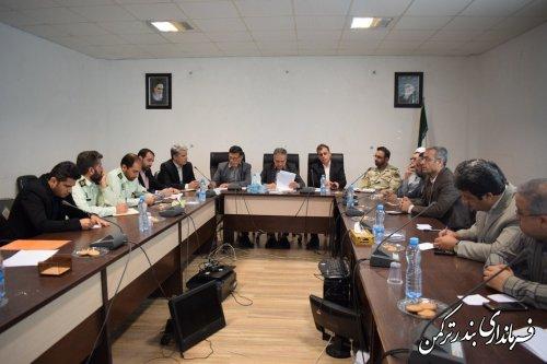 سومین جلسه ستاد ساماندهی ، هماهنگی و نظارت بر سواحل استان برگزار شد