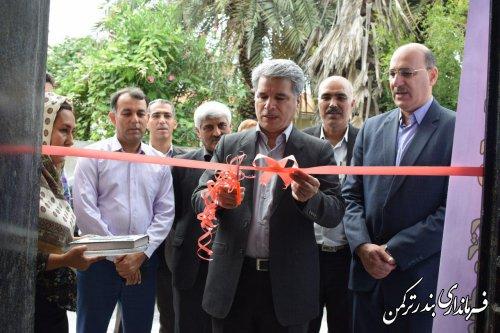 افتتاح سه کارگاه آموزشی آموزشگاه آزاد فنی و حرفه ای فراسو در شهرستان ترکمن