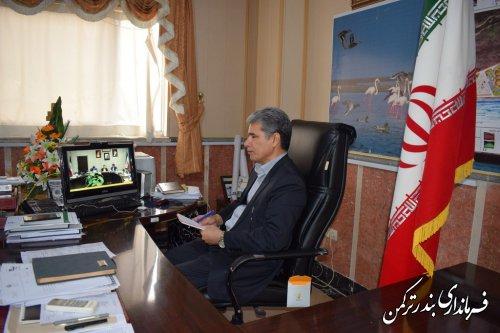 هفتمین نشست انتخاباتی استان از طریق ویدئو کنفرانس برگزار شد
