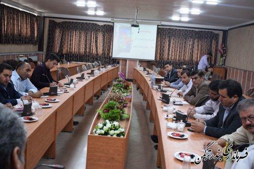 جلسه کارگروه تخصصی اجتماعی شهرستان ترکمن برگزار شد