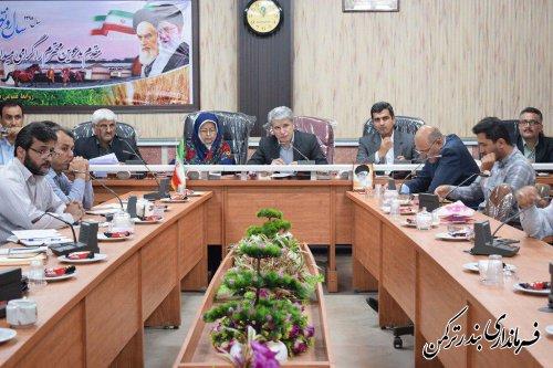 اولین جلسه ستاد اشتغال شهرستان ترکمن برگزار شد