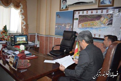 سومین جلسه ستاد بزرگداشت هفته دولت استان به صورت ویدئو کنفرانس برگزار شد