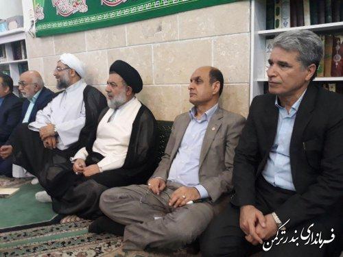 جشن بزرگ غدیر در شهرستان ترکمن برگزار شد