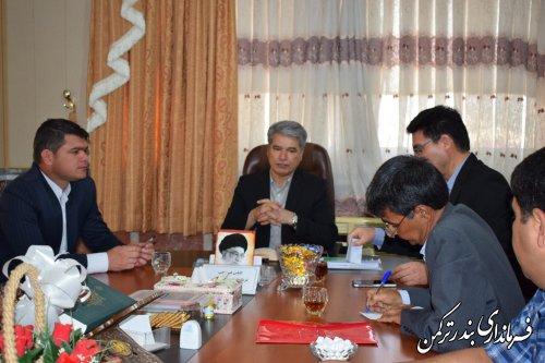 جلسه انتخاب هیئت رئیسه شورای شهر سیجوال برگزار شد
