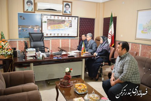 نهمین جلسه ویدئوکنفرانس فرمانداران استان برگزار شد