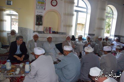 مراسم فارغ التحصیلی جمعی از حافظان کل قرآن در روستای اورکت حاجی برگزار شد