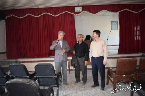 بازدید فرماندار ترکمن از ظرفیت های جزیره آشوراده