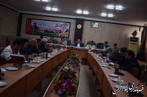 سومین جلسه شورای هماهنگی مبارزه با مواد مخدر شهرستان ترکمن برگزار شد