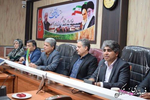 دیدار و گفتگوی صمیمانه معاون سیاسی، امنیتی و اجتماعی استاندار با احزاب و گروههای سیاسی شهرستان بندر ترکمن