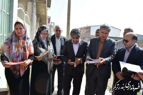مراسم اهدای بیش از ۱۵۰۰ جلد کتاب به کتابخانه های عمومی شهرستان ترکمن از طرف کتابخانه ملی