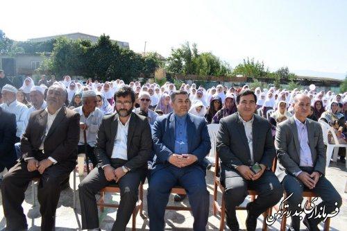 مراسم گرامیداشت هفته سالمندان و جشن عاطفه ها در شهرستان ترکمن برگزار شد