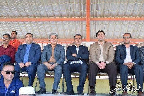 بازدید فرماندار از مسابقات تور جهانی تک ستاره والیبال ساحلی2019 بندر ترکمن