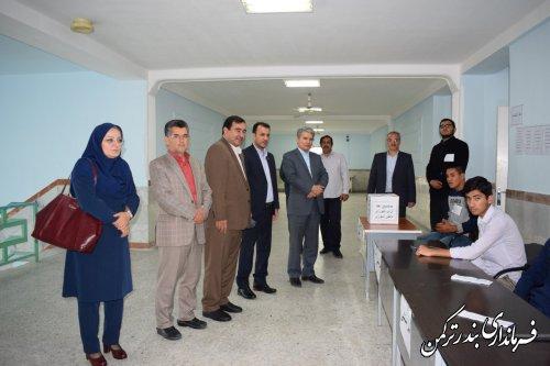 بیست و دومین دوره انتخابات شورای دانش آموزی در دبیرستان مختومقلی فراغی شهرستان ترکمن برگزار شد