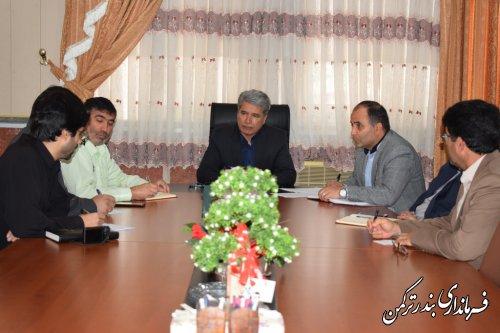 جلسه هماهنگی راهپیمایی یوم الله 13 آبان شهرستان ترکمن برگزار شد