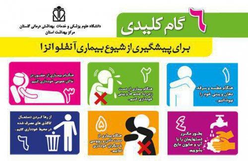 راه های پیشگیری از آنفلوانزا