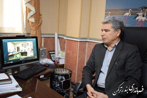 نشست ویدئوکنفرانس انتخابات استان برگزار شد
