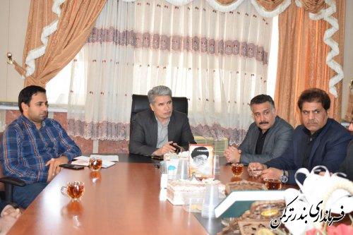 جلسه بررسی مشکلات اجرایی پروژه چهاربانده محور کردکوی- بندرترکمن برگزار شد