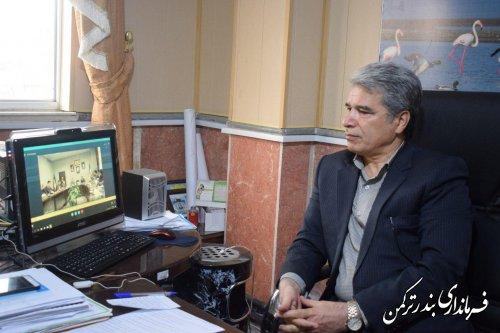 نشست ویدئوکنفرانس ستاد انتخابات استان برگزار شد