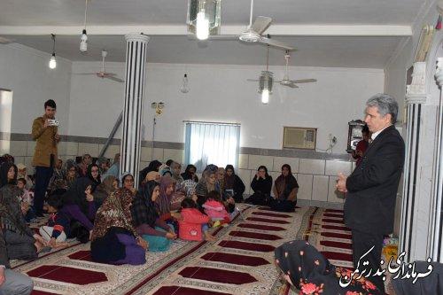 کارگاه آموزشی درختکاری و پرورش گل و گیاه ویژه بانوان روستایی در اسلام تپه