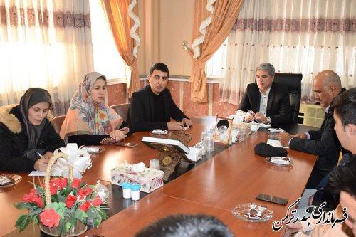 جلسه ستاد ساماندهی امور جوانان شهرستان بندر ترکمن برگزار شد