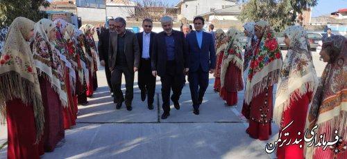 آئین کلنگ زنی و افتتاح متمرکز پروژه های آموزش و پرورش شهرستان بندرترکمن برگزار شد