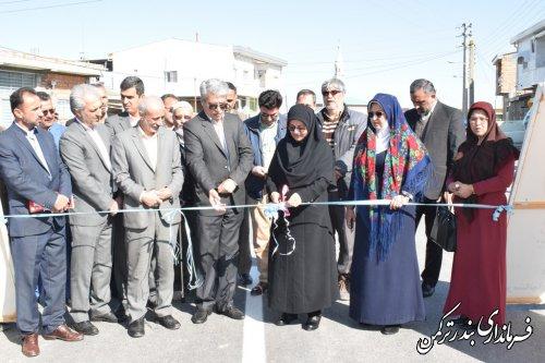 افتتاح و کلنگ زنی پروژه های عمرانی، اقتصادی و اشتغالزایی شهرستان بندرترکمن