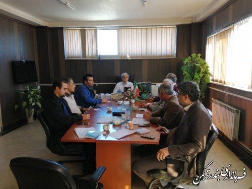 اولین جلسه کمیته امحاء انتخابات شهرستان بندرترکمن برگزار شد