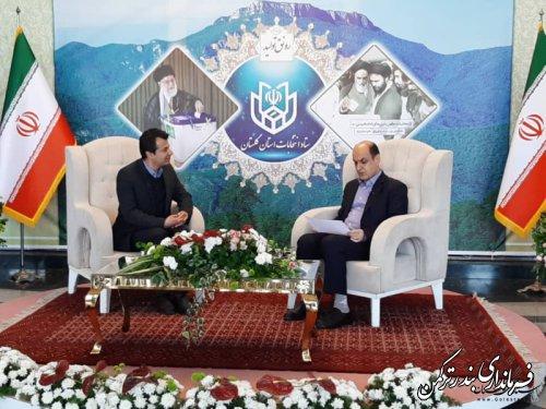 استاندار گلستان نتایج شمارش آرا در 5 حوزه انتخابیه استان را اعلام کرد
