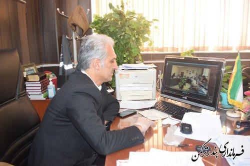 نشست ویدئو کنفرانس ستاد انتخابات استان برگزار شد