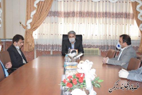 سرپرست اداره امور آب و فاضلاب شهرستان بندرترکمن معارفه شد