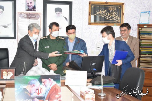 دیدار فرماندار با اعضای شورای اسلامی شهر بندرترکمن