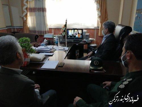 جلسه ویئوکنفرانس استانی هماهنگی حفظ آثار و ارزش های دفاع مقدس برگزار شد